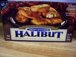 Starfish crispy gluten free halibut