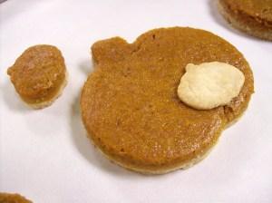 Vegan pumpkin tart