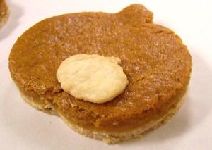 Gluten free vegan pumpkin tart